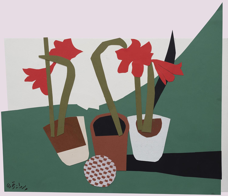Parvaneh-Etemadi-Untitled-50x70-cm-collage-on-cardboard-2019-1-Courtesy-of-INJA-Gallery-1