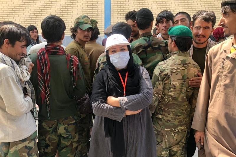 یک مستندساز و روزنامهنگار زن ایرانی به افغانستان رفت
