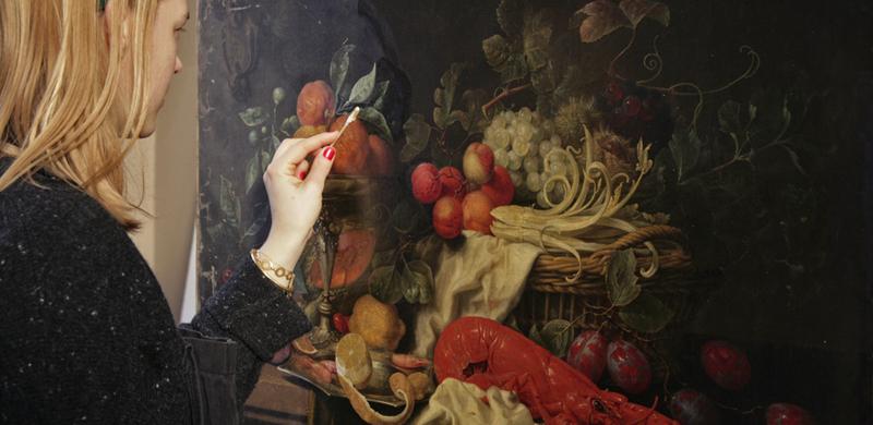 نقاشیهای موزهها از آنچه تصور میکنید کثیف تر هستند