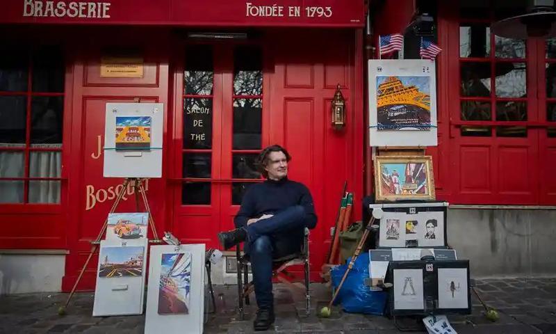 روزگار سخت نقاشان محله مونمارتر پاریس