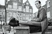 فتوشات های جدید «ربکا فرگوسن»، هنرپیشه فیلم Dune برای مجله Fashion