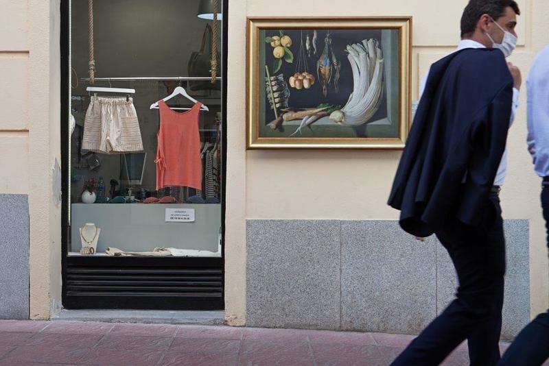 شاهکارهای موزه پرادو در خیابانها