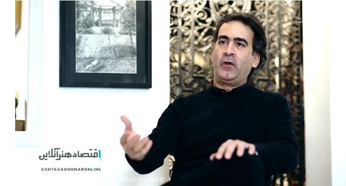 گفت و گوی اقتصاد هنر آنلاین با مدیر گالری آتبین