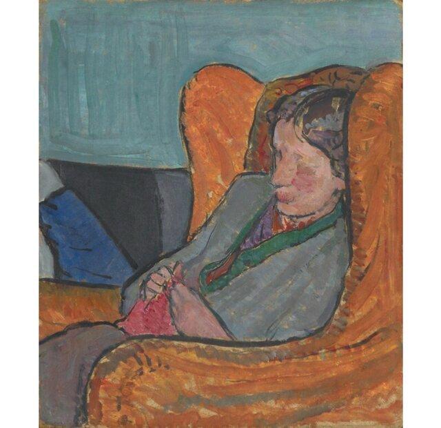 داستان یک اثر هنری: تصویر ویرجینیا وولف در نقاشی خواهرش
