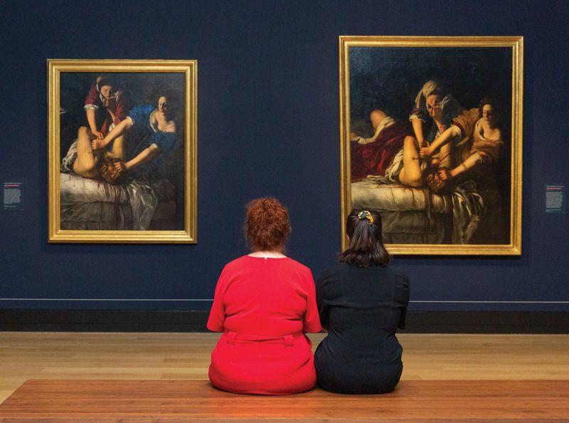 نمایشگاه آرتمیزیا جنتیلسکی در گالری ملی لندن