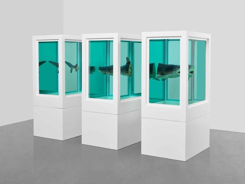 """""""پایان یک قرن"""" جدیدترین نمایشگاه دیمین هرست"""