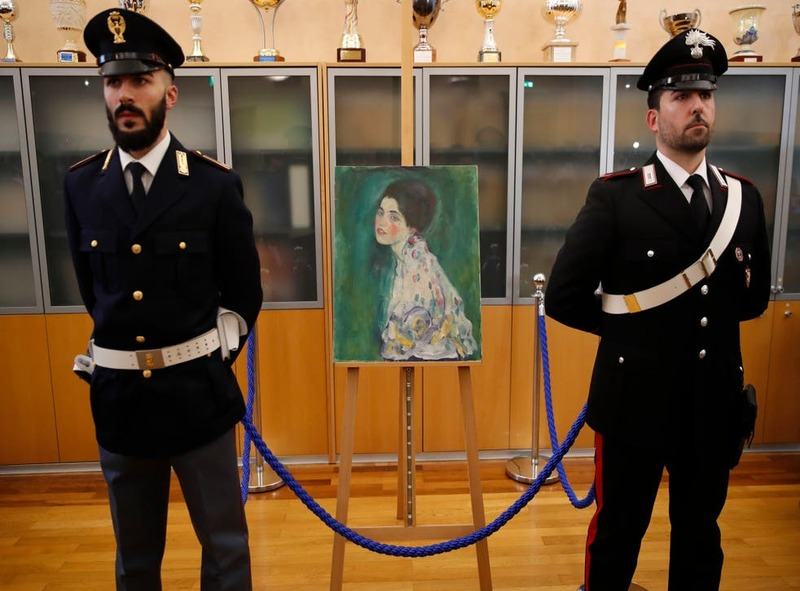 تابلوی گوستاو کلیمت که بعد از ۲۳ سال پیدا شد به همراه دیگر اثار او در رم به نمایش درمیاید