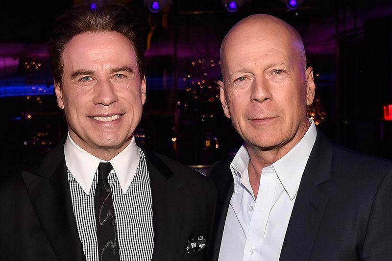 جان تراولتا و بروس ویلیس پس از ۲۷ سال دوباره همکار شدند