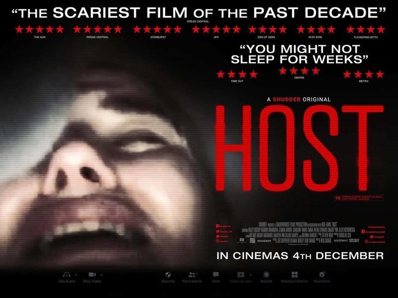 «میزبان» براساس یک پژوهش جدید ترسناکترین فیلم تاریخ اعلام شد