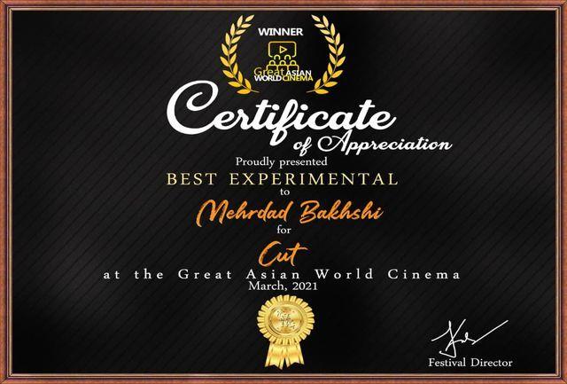 با هدف معرفی کارگردانان واستعدادهای آسیا؛ مهردادبخشی به جشنواره فیلم آسیا «کات» داد