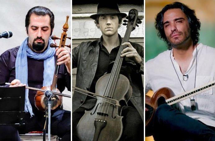 تمجید نوازنده مشهور آمریکایی از علی قمصری و مهرداد ناصحی