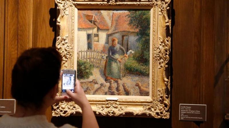 دانشگاه امریکا پیروز پرونده مربوط به نقاشی «کامی پیسارو» شد