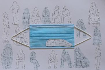 نمایشگاه خاطره خوش از قرنطینه