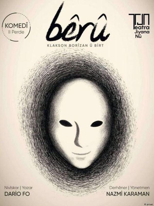 اجرای یک تئاتر کمدی به زبان کردی، در ترکیه ممنوع شد
