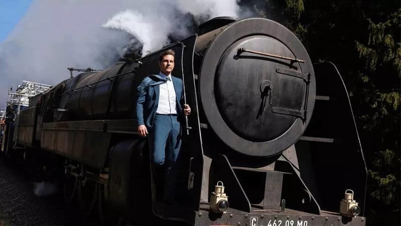 سقوط قطار در ویدیو جدید از پشت صحنه فیلم Mission Impossible 7 با بازی تام کروز
