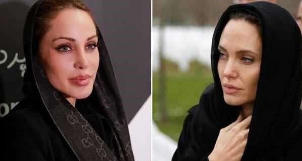 روایت بازیگر ایرانی از شباهتش به آنجلینا جولی