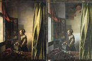 مرمت اثری از یوهانس ورمیر کوپیدو پنهان در این نقاشی را اشکار کرد