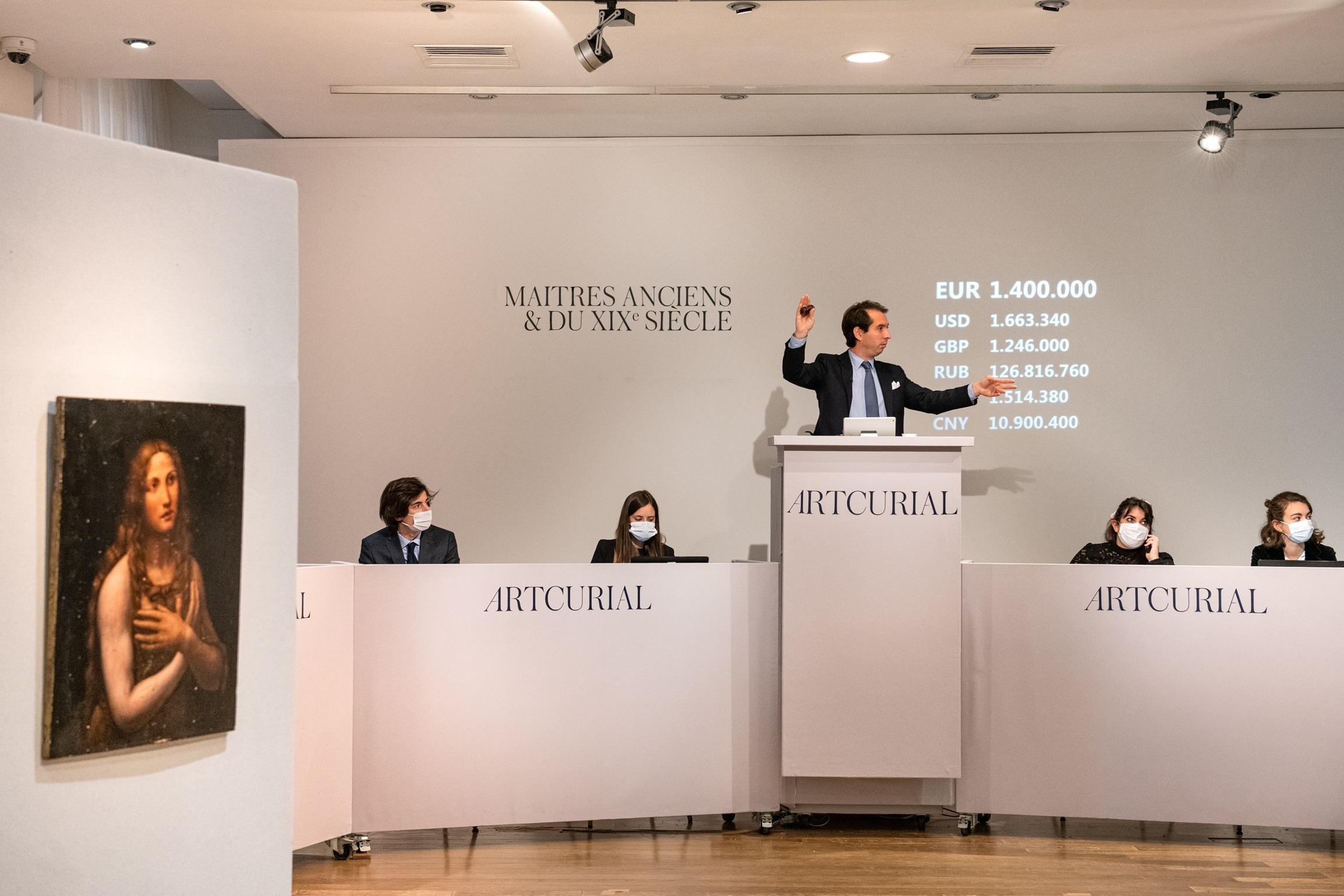 تابلوی مریم مجلدیه اثر «سالای» شاگرد داوینچی با قیمت ۱.۷ میلیون یورو فروخته شد