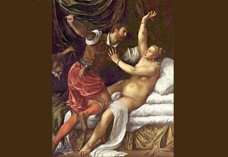 بررسی تابلو نقاشی تجاوز به لوکرسیا