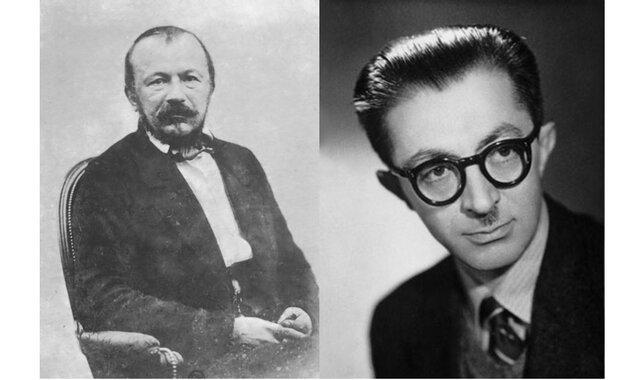 مرگ دو نویسنده که به هم شباهت دارد