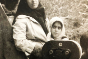 غزل شاکری: پشت صحنه فیلم گلنار در آغوش مادر