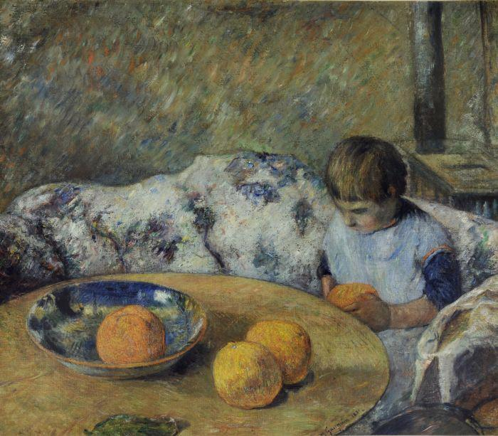 نقاشیهای هنرمندان بزرگ از فرزندانشان