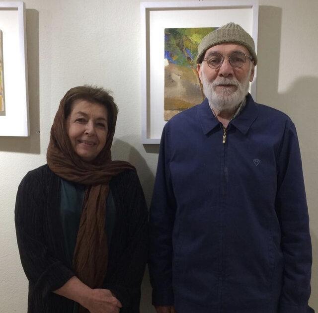 لیلی گلستان: مدادرنگی های علی را خیلی دوست دارم