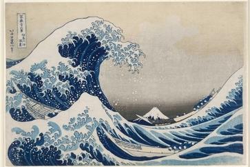 موزه بریتانیا NFT  دویست اثر از هوکوسای را  میفروشد