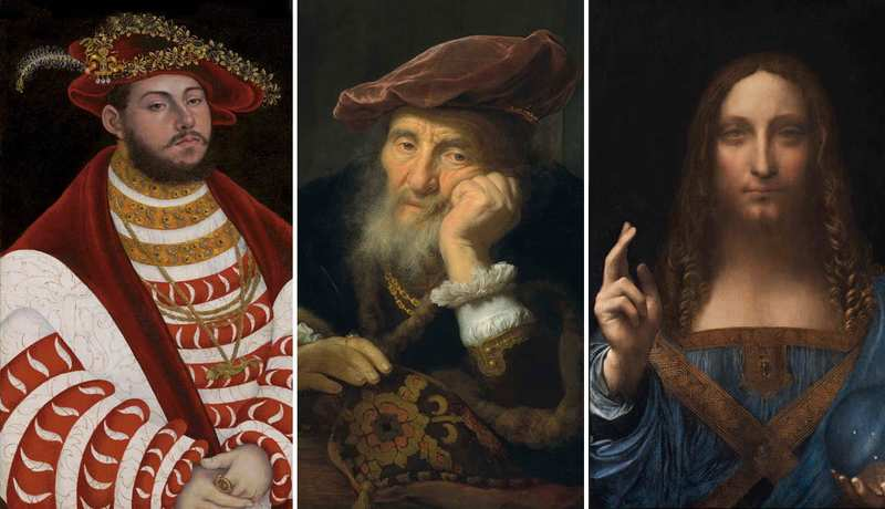 گرانترین آثار فروخته شدهی استادن قدیمی اروپا در پنج سال اخیر
