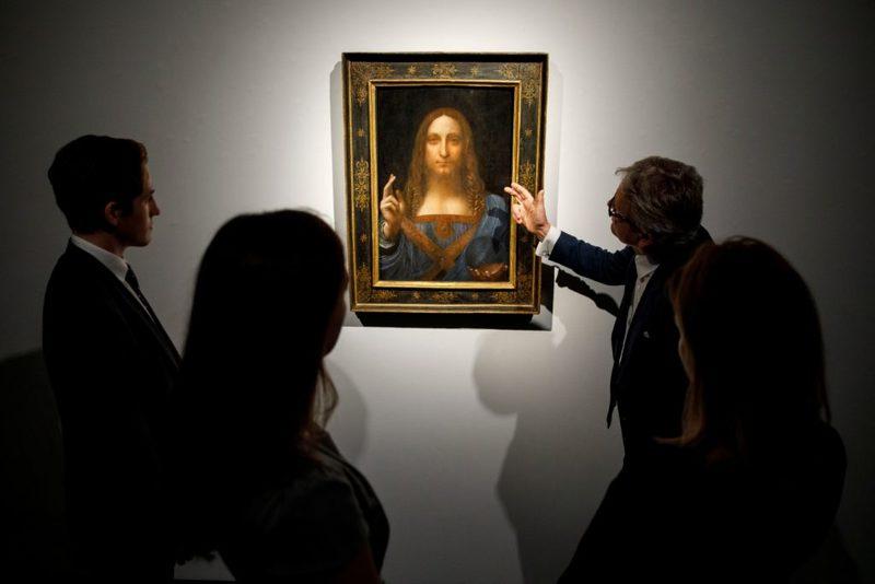 «لئوناردو داوینچی هرگز تابلوی سالواتور موندی را نقاشی نکرده»