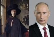 شباهت افراد مشهور به نقاشیها