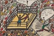 نقاشیهای محمد کلی بوکسور افسانهای یک میلیون دلار فروخته شد