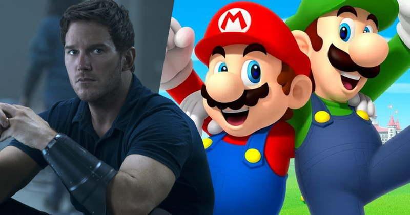 «کریس پرت» در نقش Super Mario صداپیشگی میکند