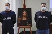 کشف نسخهی کپی مسروقه تابلوی سالواتور موندی توسط پلیس ایتالیا