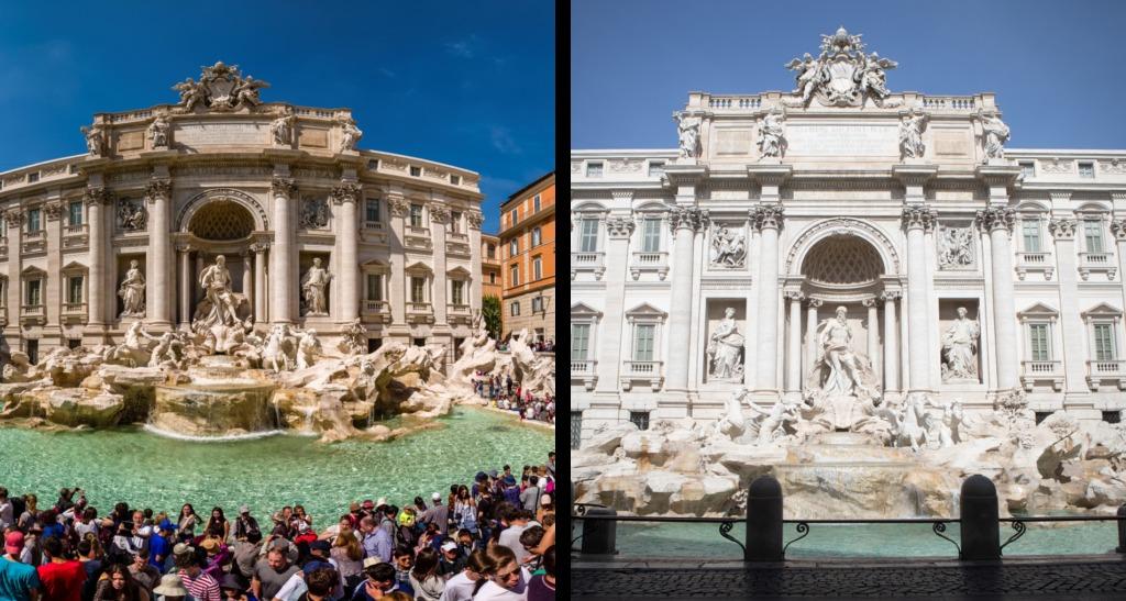 مکانهای فرهنگی محبوب دنیا خالی از بازدید کننده