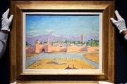 اثر «چرچیل» توسط آنجلینا جولی به گرانترین نقاشی این سیاستمدار تبدیل شد