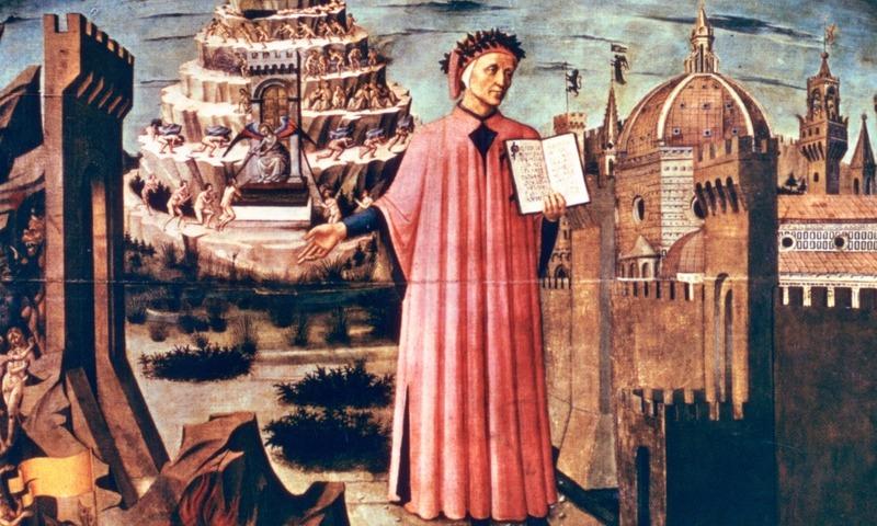 نمایش انلاین تصویرسازیهای کمدی الهی به مناسبت هفتصدمین سالگرد مرگ دانته