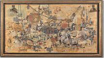 نتیجه کلی نشان میدهد فروش آثار هنرمندان ایرانی نسبت به دورههای قبل کاهش داشتهاست