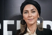 پوشش و جواهرات متفاوت هدی زینالعابدین در ونیز