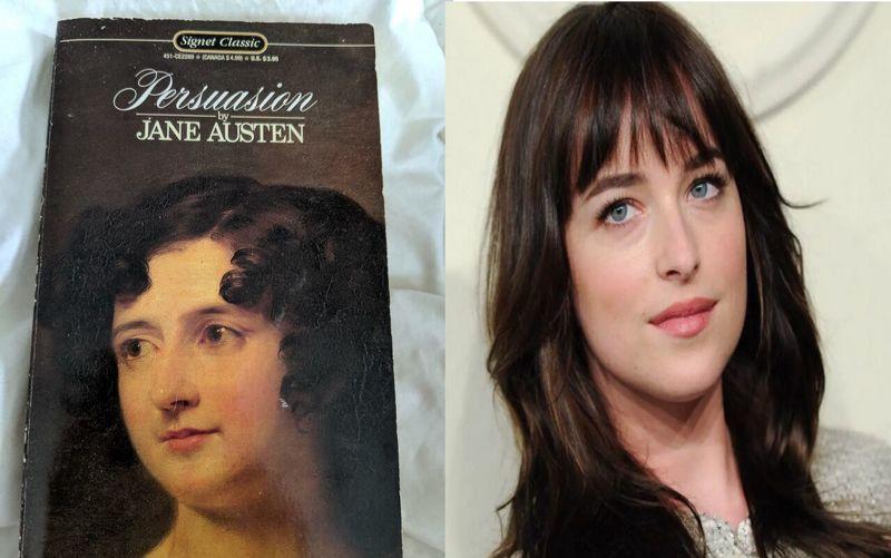 داکوتا جانسون زن یاغی رمان جین آستین شد