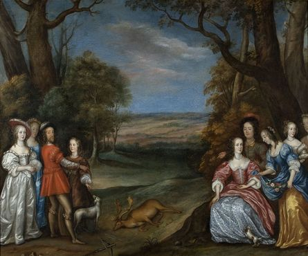 joan_carlile_british_1600_1679_the_stag_hunt_kindly_lent_by_the_lamport_hall_trustees